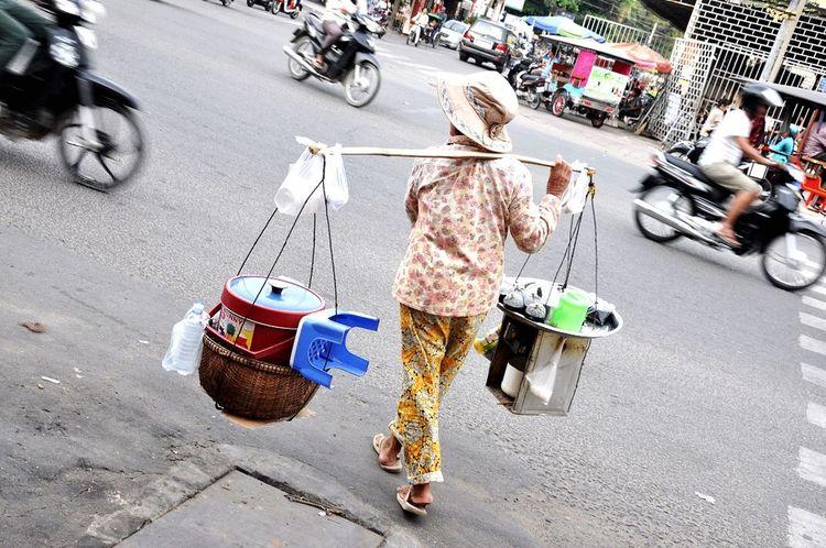 Cambodia Food On The Go Phnom Penh Streetphotography