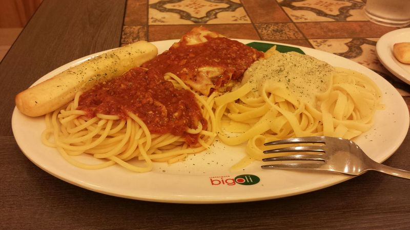 Yesterday's lunch at Bigoli  Bigoli Pasta Pasta TourofItaly