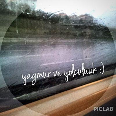 En sevdiğim :) Yagmurlu Yollar Müzik Huzur istanbul vscocam