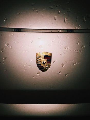 Precision SWERVE  Gold Porsche Car Golden Ride Flash Rain Cars