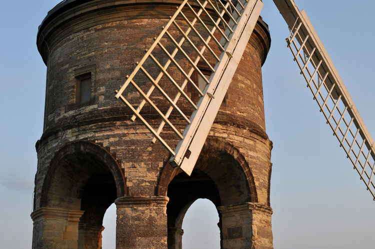 16th Century Arches Architecture Built Structure Chesterton Windmill Day Evening Light Landmark Low Angle View No People Outdoors Sky Stonework Warwickshire