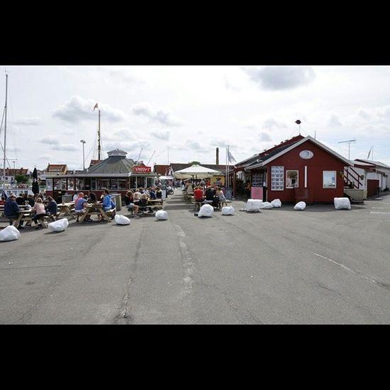 Throwback Thursday - Summer In Gilleleje Throwbackthursday  Summer Sommer Gilleleje nordsjaelland denmark dänemark danmark havn hafen harbor harbour people menschen street streetscene