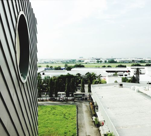 Leisure Activity Sky Built Structure Architecture Day Building Exterior Outdoors No People Tree Nature City Circle Runaway Green Grass Scenery