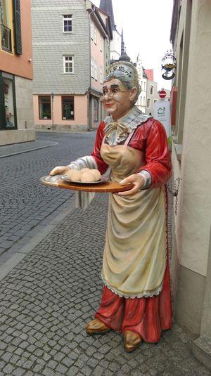 Thüringer Klöße in Weimar,