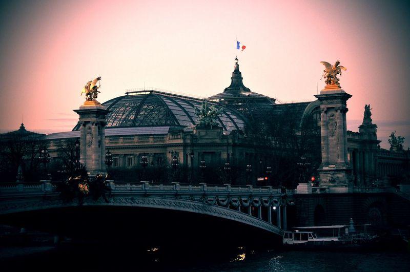 Grandpalais Paris Architecture Le Grand Palais