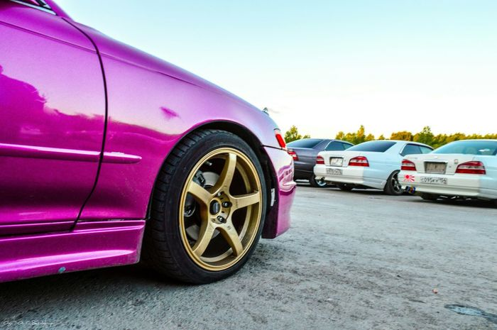Transportation Street Pink Color Car Transportation Carporn Automotive Automotive Photography Wheels Toyota Drift Jdm JDM Cars MarkII Driftcar Jzx90 Tourerv Chaser Cresta Jzx100