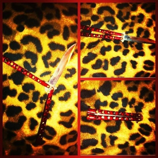 ❤favorite knife Balisong Weapon Weapon Of Choice