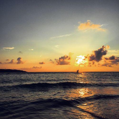 沖縄 Okinawa 宮古島 Miyakojima 与那覇前浜 夕日 Sunset