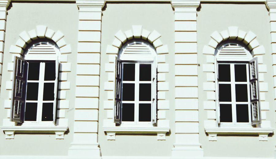 Three windows Architecture EyeEm Best Shots Travel Photography Singapore