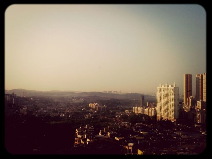 Morning View from my home! ? Hills Skyscraper Sunshine Grassland