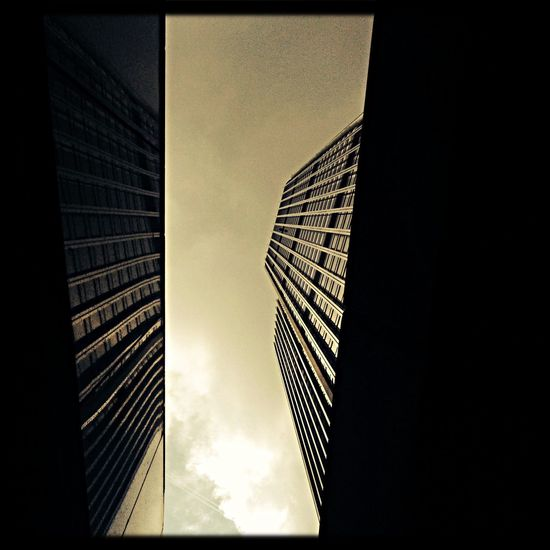 Looking up has its rewards. Tower 42 Skyscrapers London Reflection