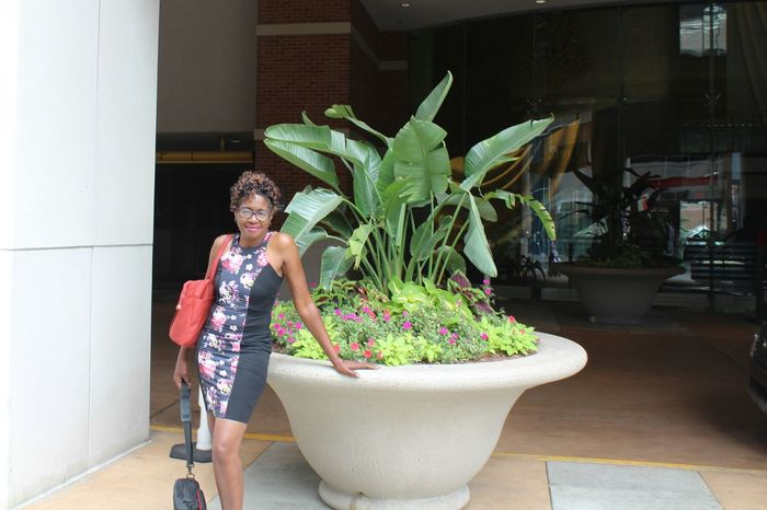 That's Me! Greektown Detroit Michigan United States Essence Of Summer Taking Pictures Imperfectly Perfect African American Woman Grandma Only In Detroit Taking Photos Self Portrait 43 Golden Moments Quality Time Tourist_spot Canon Photography Outdoor Photography Greenery Flowers Fashion Fashion Photography Potted Plant