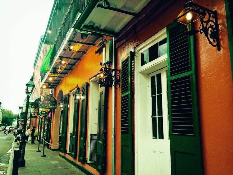 New Orleans Old Town Architecture Building Exterior Built Structure City Day Historic Historical Building Louisiana New Orleans Old Buildings Oldtown Oldcity Outdoors Sky Street The Street Photographer - 2017 EyeEm Awards