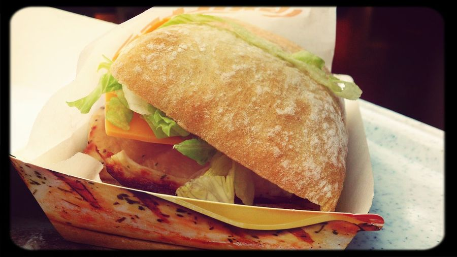 yummy :) KFC Sandwich Food Lunch