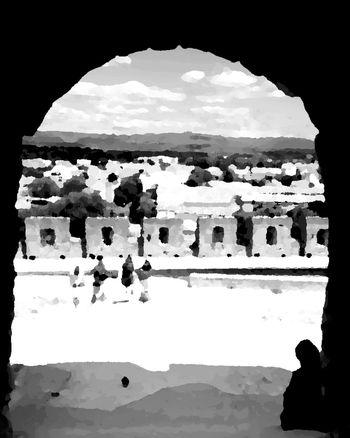 Paint Peinture Blackandwhite Hello World Urban Lifestyle Majestic Streetphotography Old Buildings City Street EyeEm Best Shots Urbanphotography Hanging Out Taking Photos Carcassonne