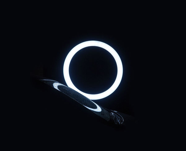 Shape Geometric Shape Circle Dark Copy Space Indoors  Black Background Close-up Night Illuminated No People Light - Natural Phenomenon Studio Shot Nature Design Technology Cup Black Color Hole Glowing Eclipse