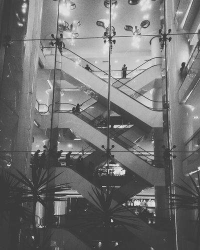 Human Meets Technology Taking Photos Escalator Escape The City Escape Leading Lines Lines And Shapes Bnw Bnw_friday_eyeemchallenge Bnw_collection Bnw_captures Bnw_life Bnw_society Bnwphotography Bnw_worldwide Bnw_friday_challenge Bnw_magazine Bnwmood Bnw Photography Bnw_city Your Design Story