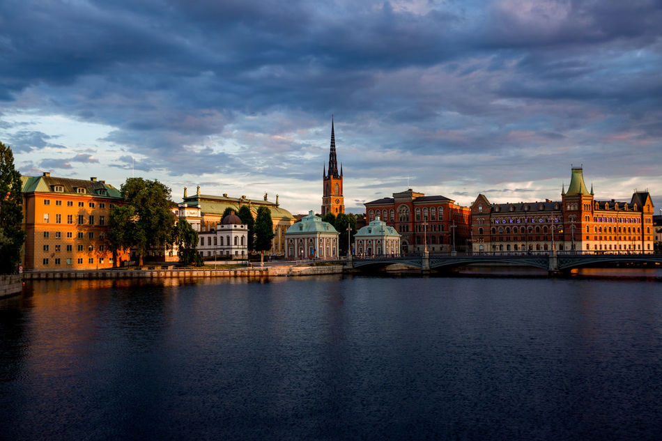 Amazing Stockholm Colors Paniramic Skies Stockholm Stockholm, Sweden Cloud - Sky Evening Landscape Urban
