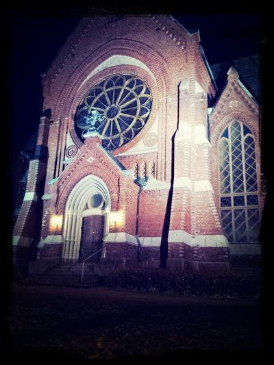 Church Gothic Church Church Of Kotka Kotkan Kirkko