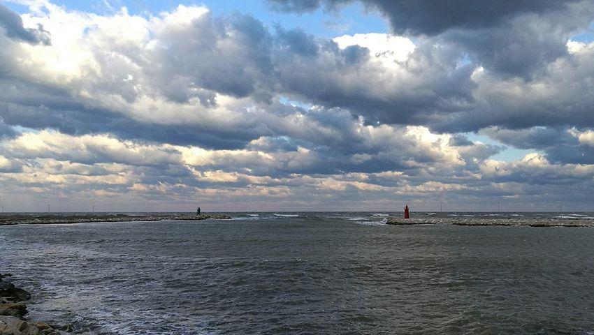 Sea Water Cloud - Sky Harbour EyeEmNewHere