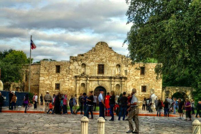 The Alamo Taking Photos Hello World Travel Culture Historic High Definition