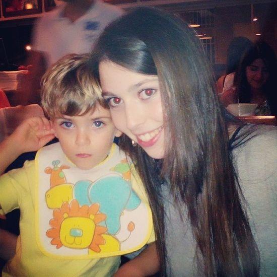 No restaurante com os príncipes Amoresdaminhavida Gaby Fabio Afilhado namorado perfect