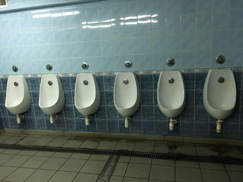 No People Kiev Toilet Time🚽 Pissoir Toilette Art In A Row