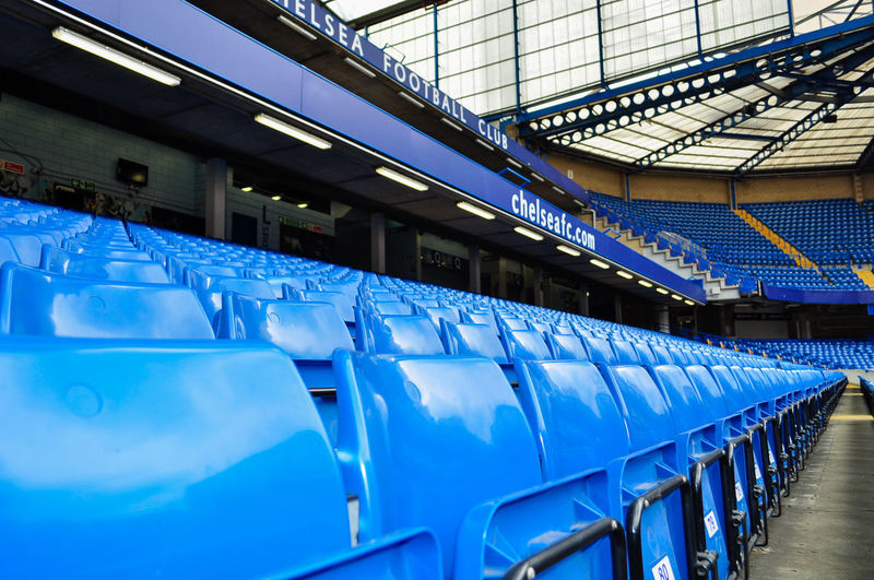 Architecture Blue Chelsea Chelseafc Football Jose Mourinho Josemourinho Lowangle Pattern Seat Soccer Stamfordbridge  Statue The