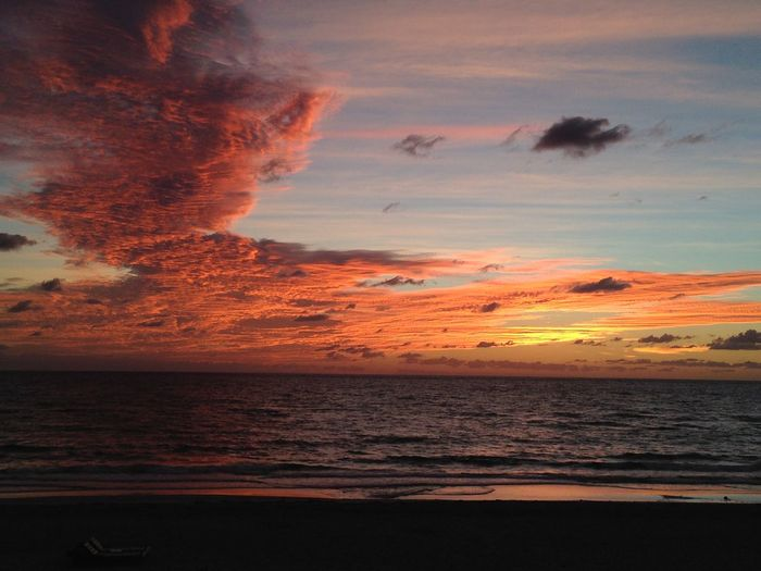 #BocaRaton Atmosphere Beach Beauty In Nature Calm Cloud Coastline Dramatic Sky Horizon Over Water Idyllic Majestic Nature Non-urban Scene Orange Color Romantic Sky Scenics Sea Seascape Shore Sky Tranquil Scene Tranquility Water Wave