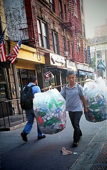 New yorks gold mine.... Recycling Cans Empty Bottles Empty Cans I Love New York