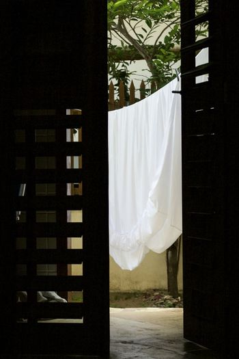 Door Fresh Sheets Laundry Outdoor Shadow Shadows & Lights
