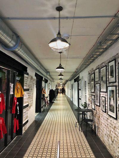 Tallinn Estonia Architecture Ceiling Lighting Equipment Indoors
