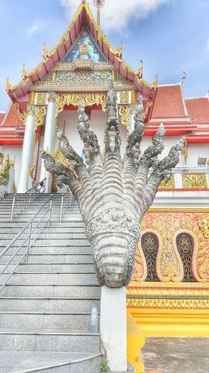 Serpent, Sky Statue Thailand Art EyeEm Gallery Statue Buddha Day Sky,thailand,