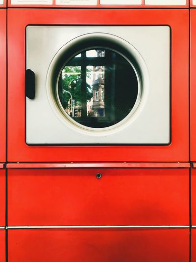 Reflection on appliance