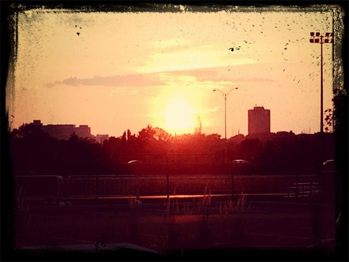 Nice sunset Sunset Silhouettes First Eyeem Photo