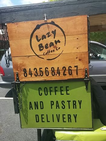 Delivery Coffee Golf Cart