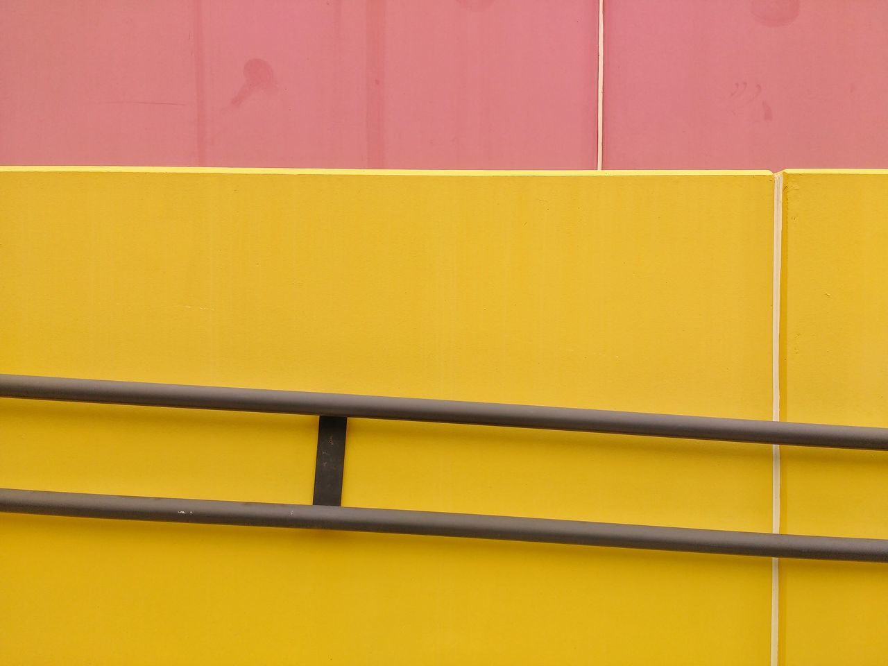 yellow, wall - building feature, no people, built structure, full frame