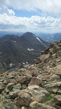 Mt Evans Colorado 14,000+ft Elevation Rocky Mountains Up In The Clouds Mountain Landscape Nature Scenics Cloud - Sky Mountain Range Beauty In Nature Outdoors Travel Destinations Day Sky Dramatic Sky Peace Home Namaste ❤