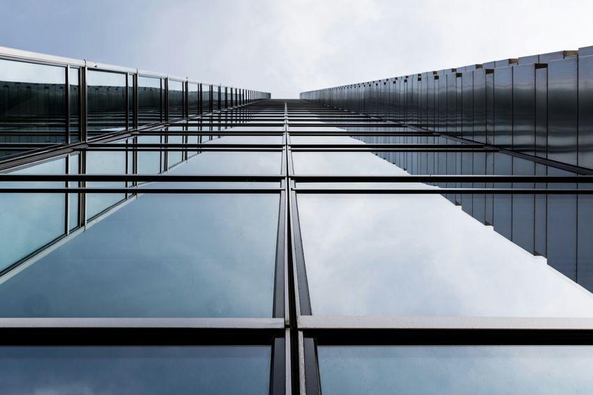 Warsaw Poland Architecture Lookingup Skyscraper EyeEm Best Shots - Architecture EyeEm Best Shots Urban Geometry Symmetrical Vanishing Point EyeEm x WhiteWall: Architecture The Architect - 2016 EyeEm Awards