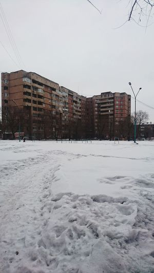 City Snow Cold Temperature Snowing Ghetto Winter Business Finance And Industry Weather Sky Architecture