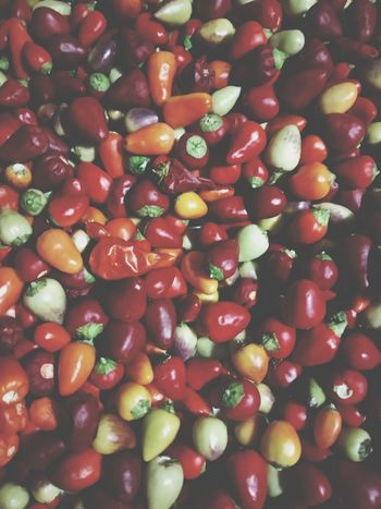 Hot winter Red Food And Drink Food Healthy Eating Vegetable Backgrounds Fruit Green Color Freshness Red Nature Close-up Indoors  Vegetarian Food No People Full Frame Agriculture Multicolor Hottie Foodphotography Colour Of Life Peppers Hot Spring Chili Pepper Nature Food Stories
