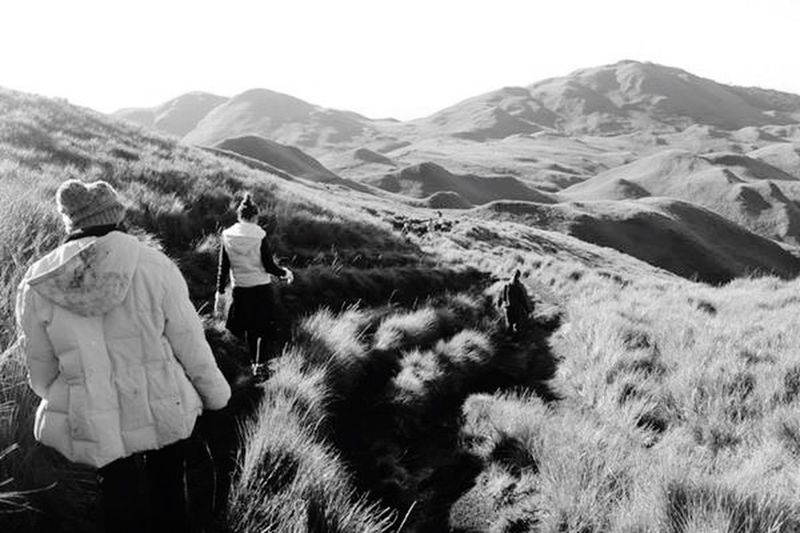 Blackandwhite Mountains Hiking Mt. Pulag Philippines EyeEm Best Shots Enjoying Life