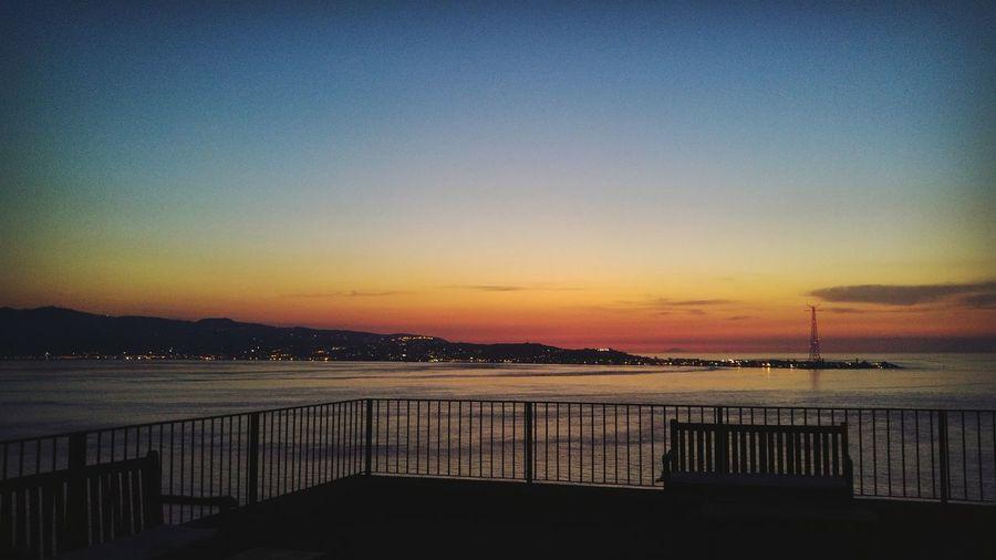 Altafiumara Straitofmessina Sunset View