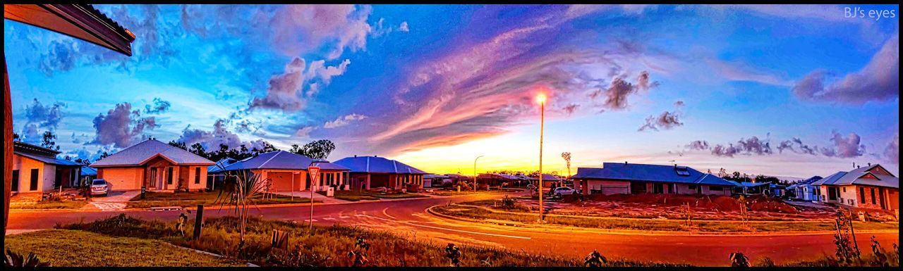 One afternoon in muirhead Panoramic Sky Cloud - Sky Auto Post Production Filter Architecture Nature Building Exterior Land Outdoors Beauty In Nature