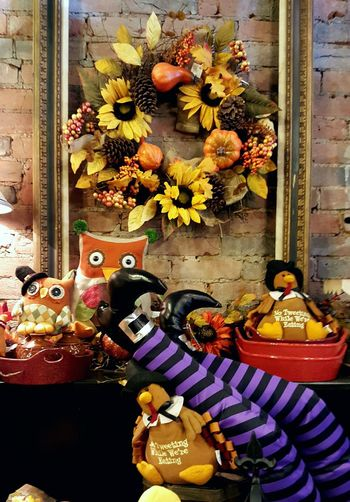 Fall Halloween Thanksgiving Store Display Witches Feet Fall Colors Decoration Decorations Webdesign Fall Tones