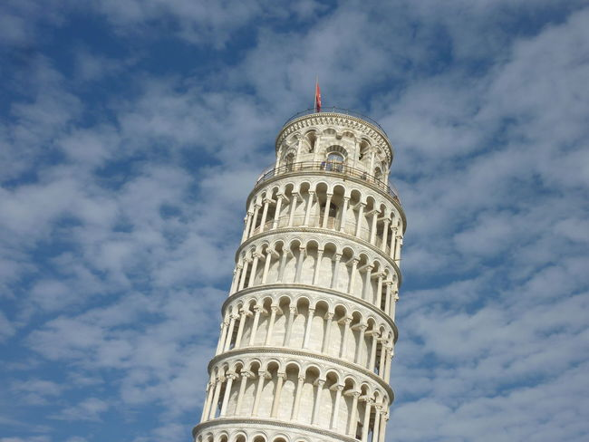 Part of Pisa tower - no edit, no filter Travel Destinations Travel Cloud - Sky Architecture Low Angle View History Tower City Tourism EyeEm Gallery Eyem Gallery Architecture Scenic Cropped Object Famous Tourist Attractions Pisa - Italy Pisa Tower Clouds And Sky Cloudscapes