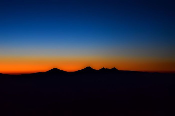Sunset three weeks ago over three sisters Mountain Sunset Scenics Clear Sky Landscape Nikond3300 Enjoying Life Camping Editedbyme Blue Sumertime Camping Trip! Taking Photos Hello World The Journey Is The Destination Sunrise_sunsets_aroundworld