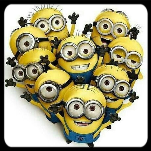 Minions sind so süß...❤️