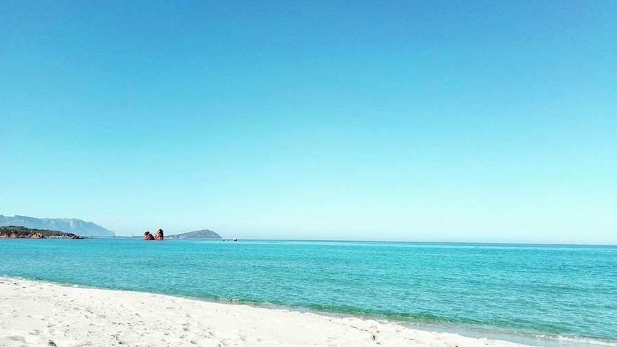 sardinia Sea 😍 Cea  Mare Sea Sardegna Sardinia First Eyeem Photo