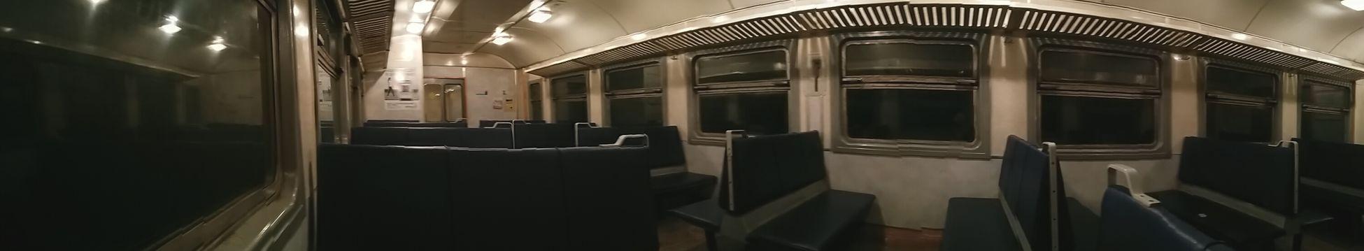 Last Train Home Empty Train